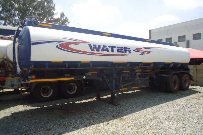 Tank Clinic Water tanker 2 AXLE WATER BOWSER 30 000 L Trailers