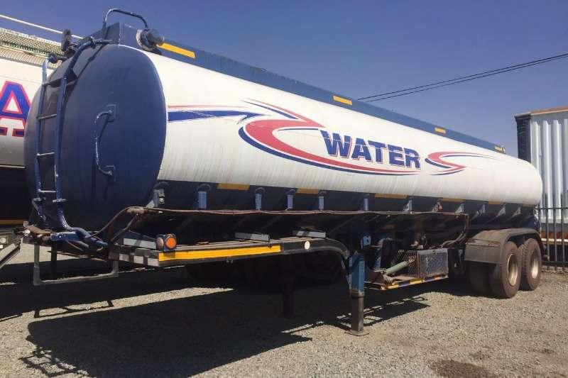 Trailers Tank Clinic Water Tanker Used Tank Clinic Aluminium Water Tanker Available 1998