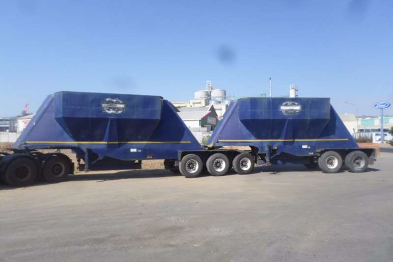 Trailers TEE Bottom Dump Interlink TEE Bottom Dump Interlink 1996