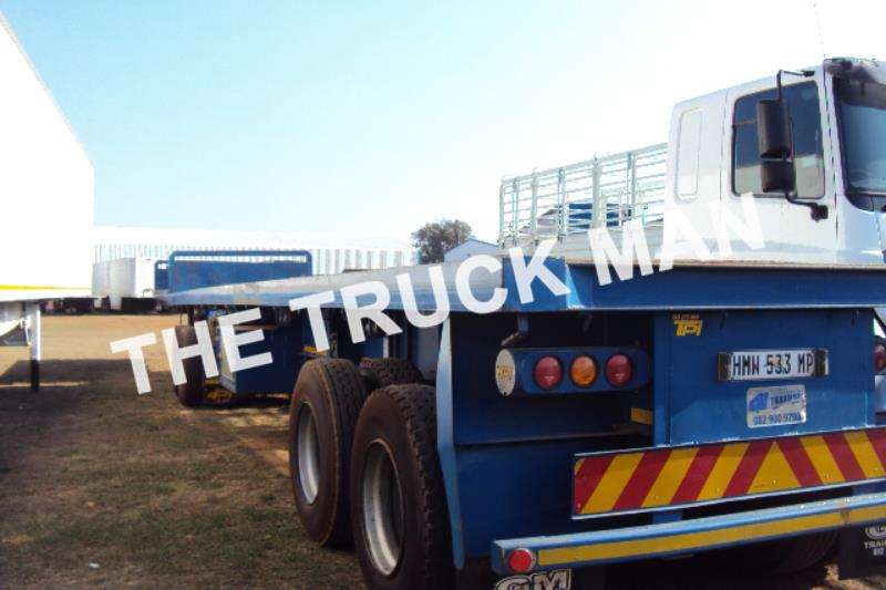 TOHF Flat deck Super Link Trailers