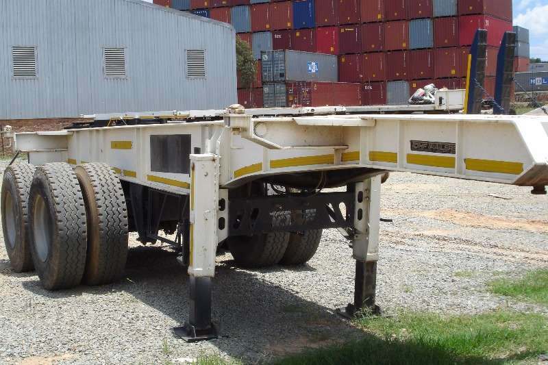 TOHF Skeletal Container Trailer Trailers