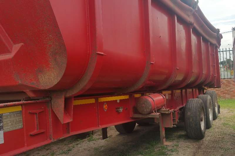 Trailers Top Trailer Drawbar End tipper drawbar 2007