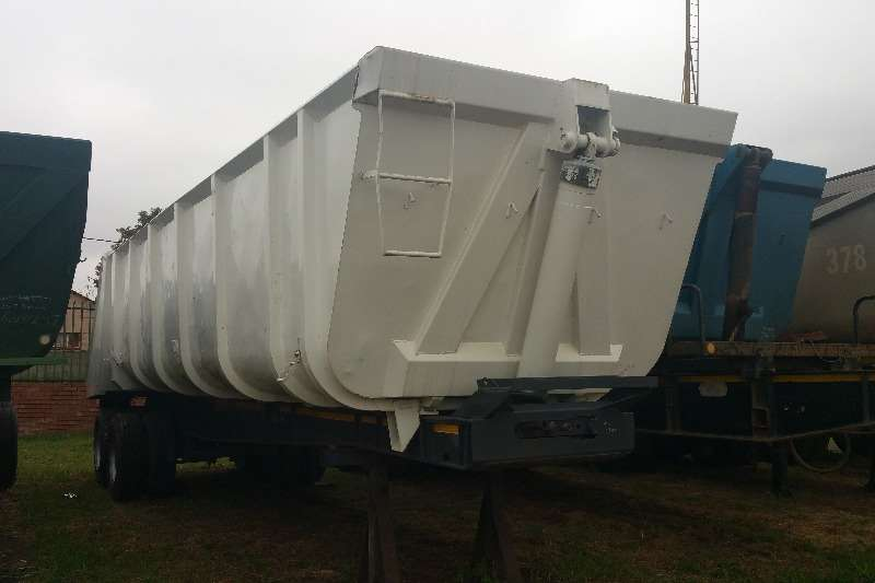 Top Trailer End tipping End tipper Tandem axle Trailers