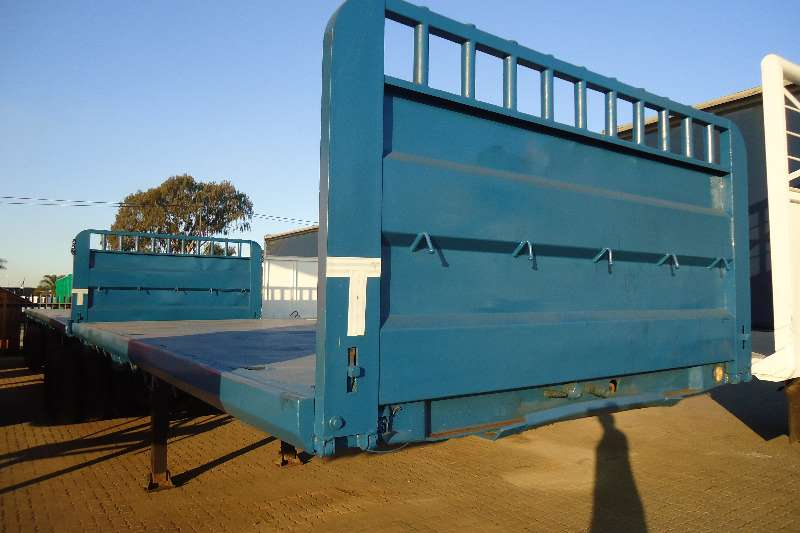 Trailers Top Trailer Flat Deck FLED DECK SUPERLINK 2005