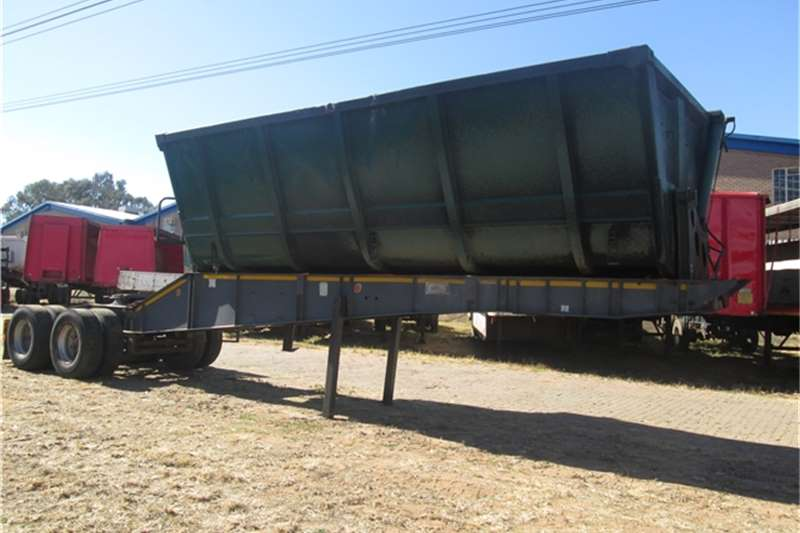Trailers Top Trailer Frontlink - Side Tipper  2006