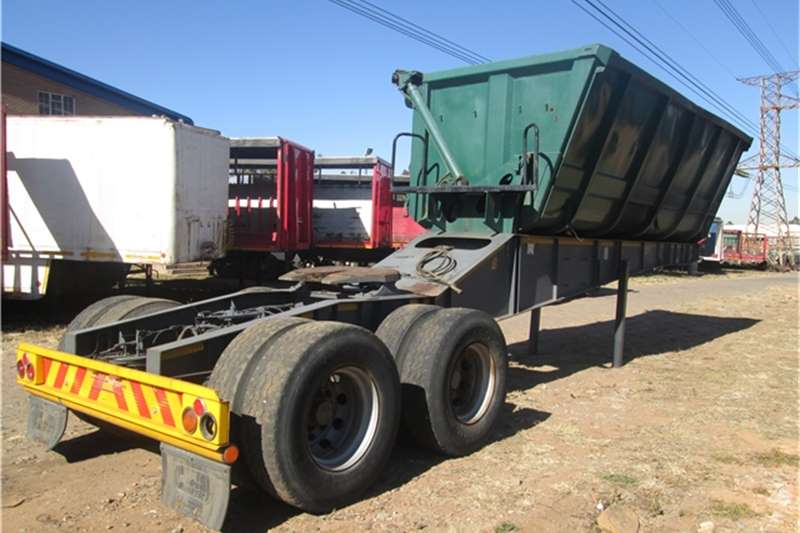 Top Trailer Frontlink - Side Tipper  Trailers