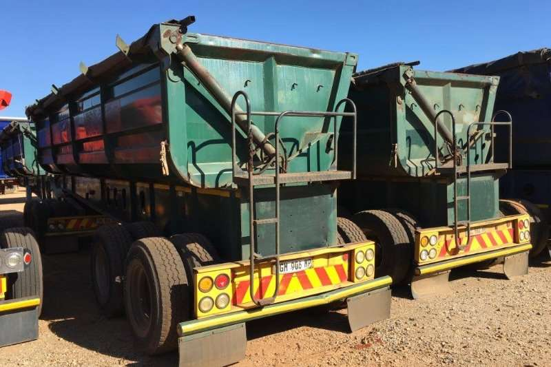 Top Trailer Side tipper ( 35 Available )    Interlink Side Tipper Trailers