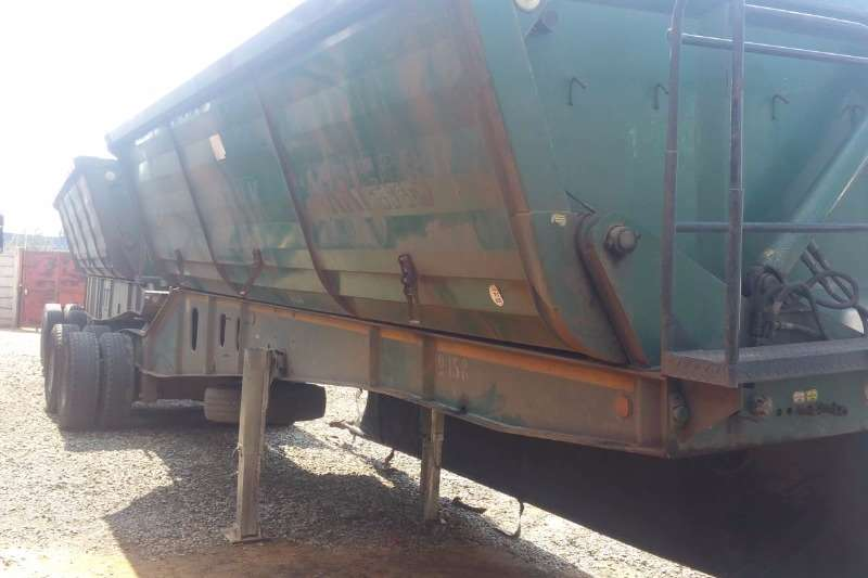 Top Trailer Side tipper 40 Cube Trailers