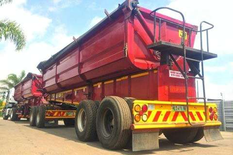 Top Trailer Side Tipper Llinks- Trailers
