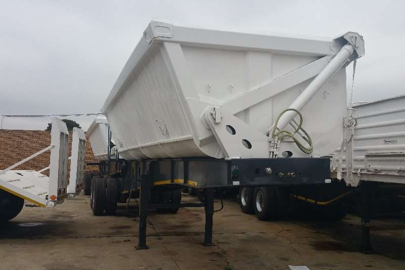 Top Trailer Side tipper Side Tip Link Trailers