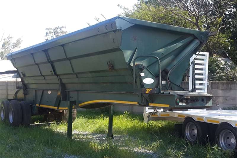 Top Trailer Side tipper Tandem Axle Side Tipper Trailers