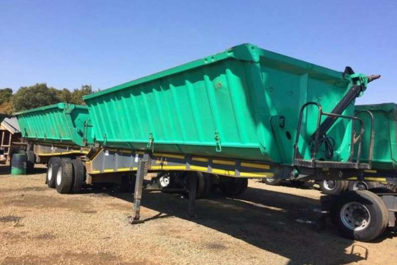 Top Trailer Side tipper Tandem Front & Rear Trailers