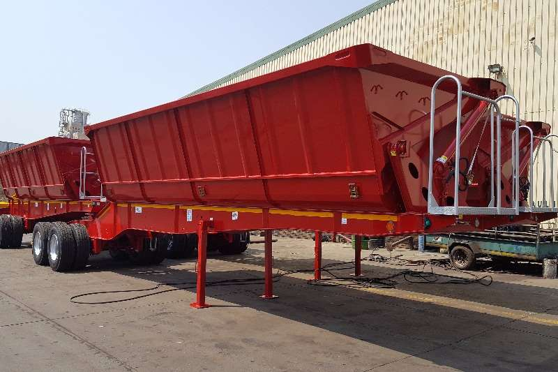 Top Trailer Side tipper TOP TRAILER NEW SIDE TIPPER Trailers
