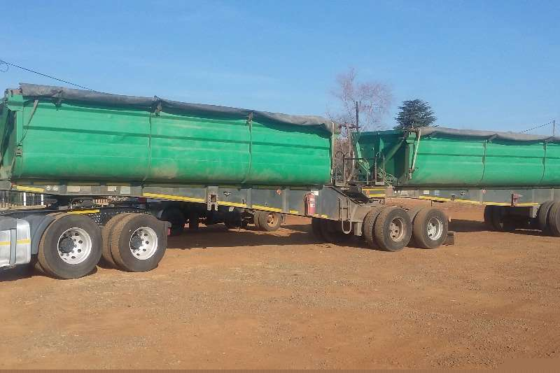 Top Trailer Side tipper Toptrailer Trailers