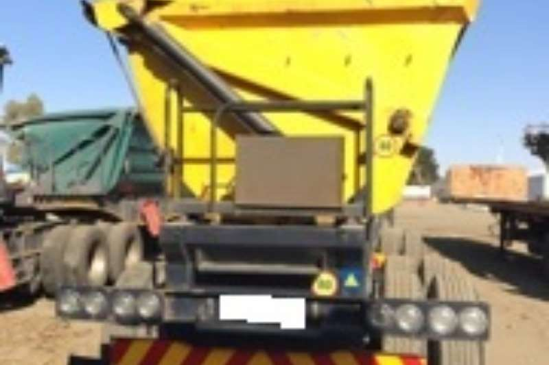 Top Trailer Side tipper Used 40 Cube Side Tipper Link Available Trailers