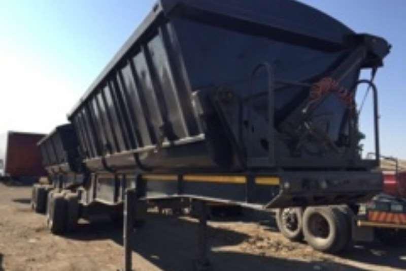 Trailers Top Trailer Side Tipper Used 40 Cube Side Tipper Link Available 2014