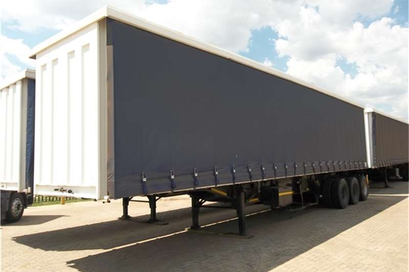 Trailers Top Trailer Tautliner TRI AXLE TAUTLINER 2007