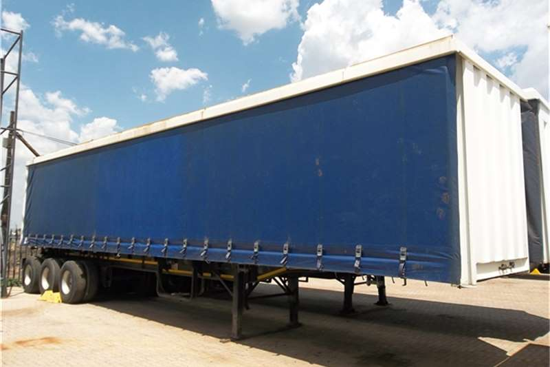 Top Trailer Tautliner TRI AXLE TAUTLINER Trailers