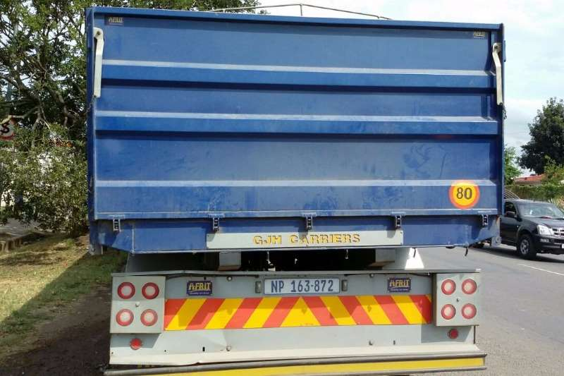 Trailord Afrit Dropside Interlink Trailers