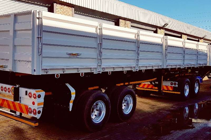 Trailord Dropside 35 Ton Payload - Dropside Side Tipper Trailers