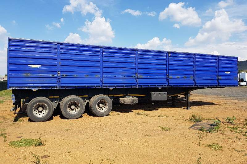 Trailers Trailord High Sides Tri Axle Crain Carrier Trailer 2013