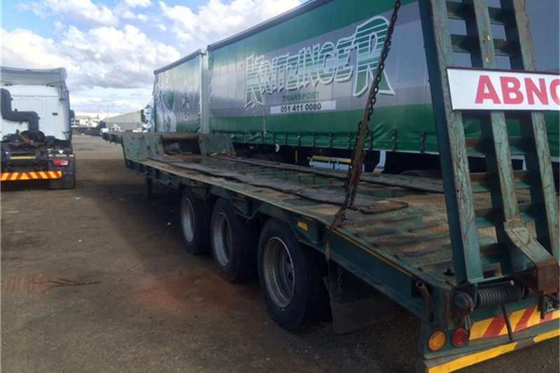 Trailers Trailord Lowbed Top Trailer  2008