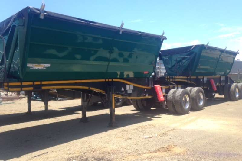 Trailord Side tipper 25 Cube Side Tipper Link Trailers