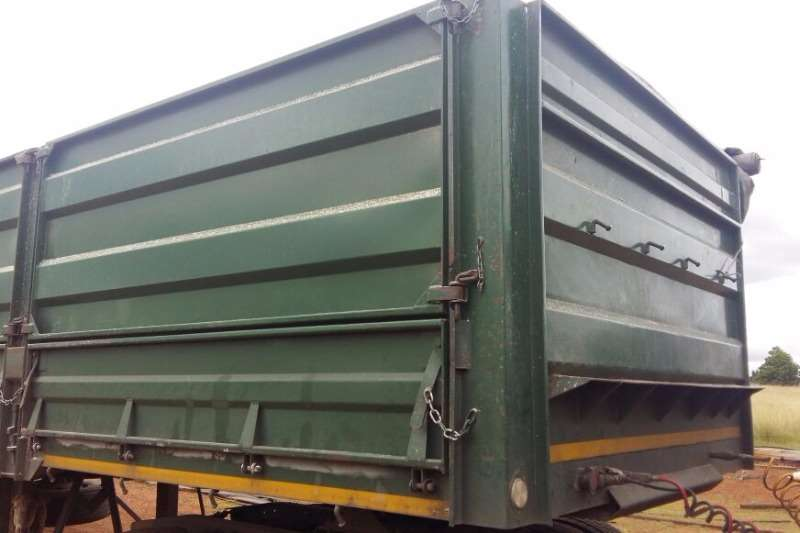 Trailord Tri-Axle UBT Tri Axle Dropside 13.5 x 1.4m Sides Trailers
