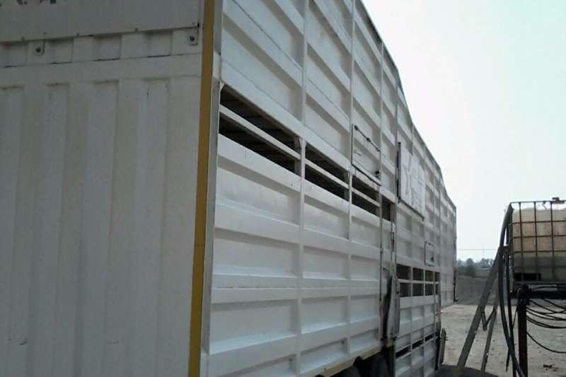 Trailstar Cattle body TRI-AXLE CATTLE TRAILER Trailers