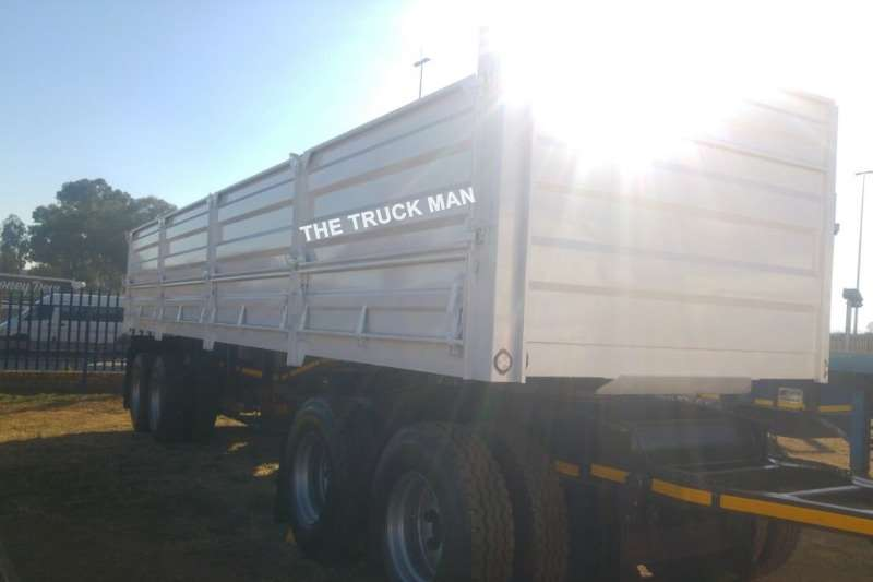 UBT Dropside 2017 REFURBISHED 4 AXLE DRAWBAR Trailers
