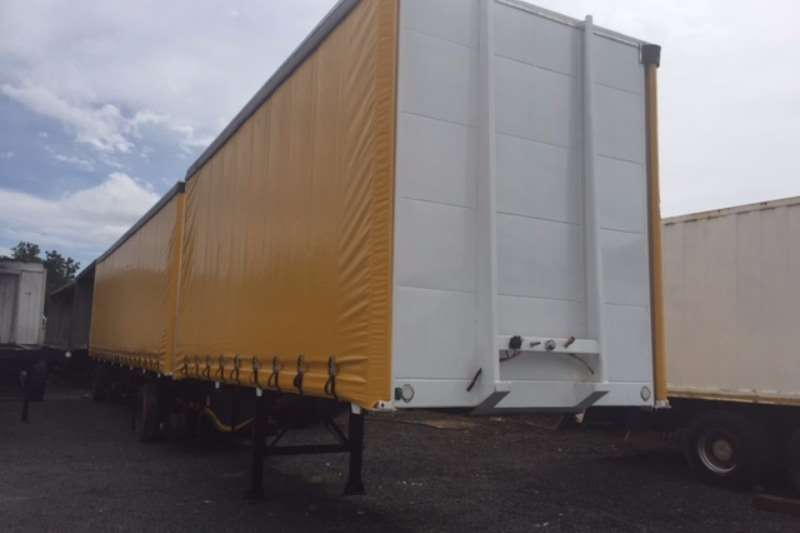 Trailers UBT Tautliner NEW 2017