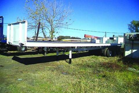 Walking floor KEARNEYS - Axle Flat Deck- Trailers