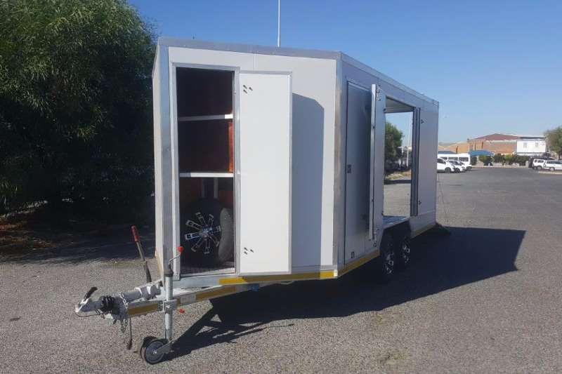 Western Cape Trailer Custom Enclosed Car Trailers Trailers