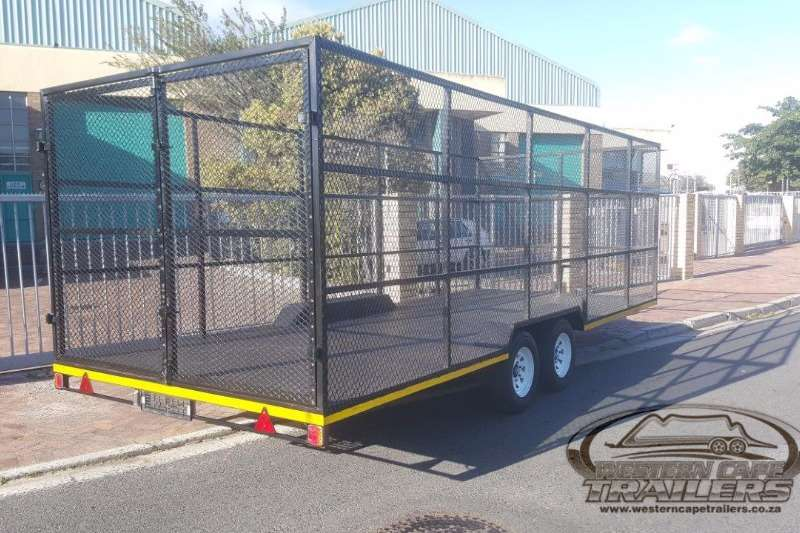 Trailers Western Cape Trailer Custom Recycling Trailers 2017