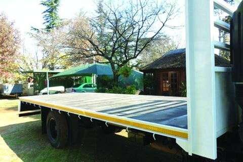 6.4 meter Flat deck bodies- Truck