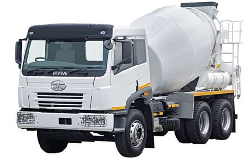 Truck FAW Concrete Mixer 33.330FC 6m3 Mixer New 2017