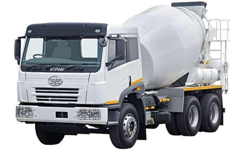 FAW Concrete mixer 33.330FC 6m3 Mixer New Truck