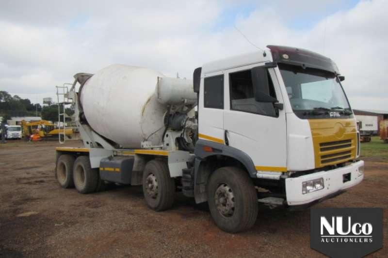 Truck FAW Concrete Mixer FAW CA35-340 TWINSTEER 9CUBE CONCRETE MIXER 0