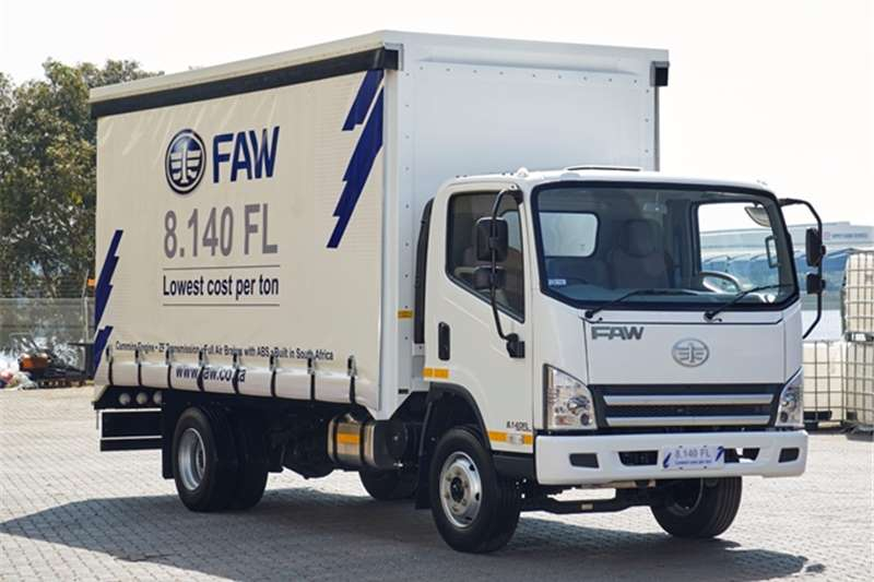 FAW Curtain side 8.140FL - Curtain Side Truck
