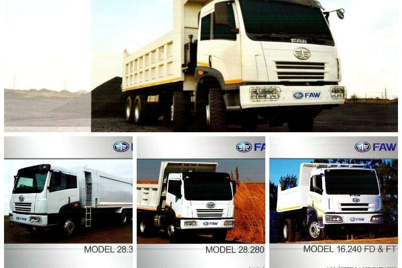 FAW Dropside Brand New FAW Trucks Available Truck