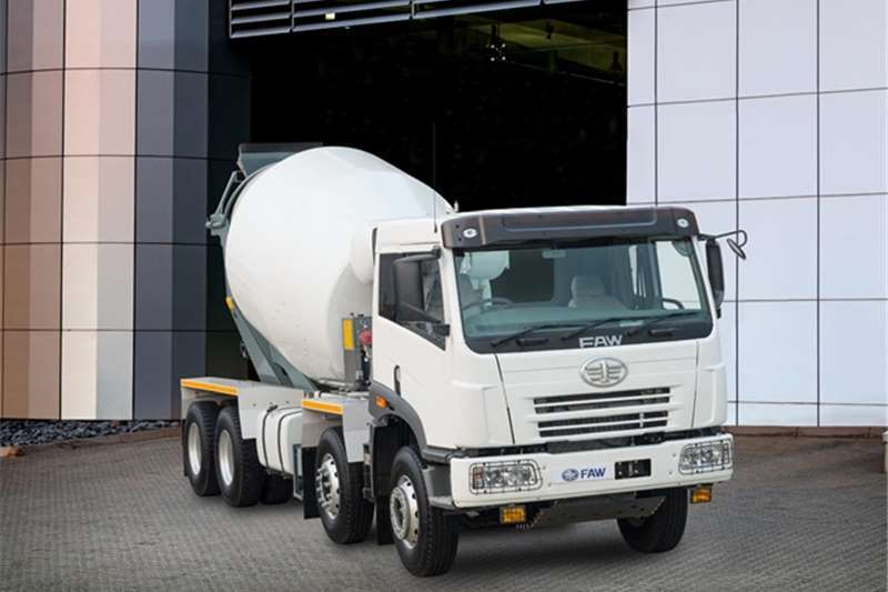 FAW FAW 35.340FC 8cube complete mixer Truck