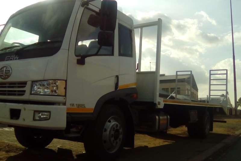 FAW Flat deck 15.180FL: 8-Ton Truck