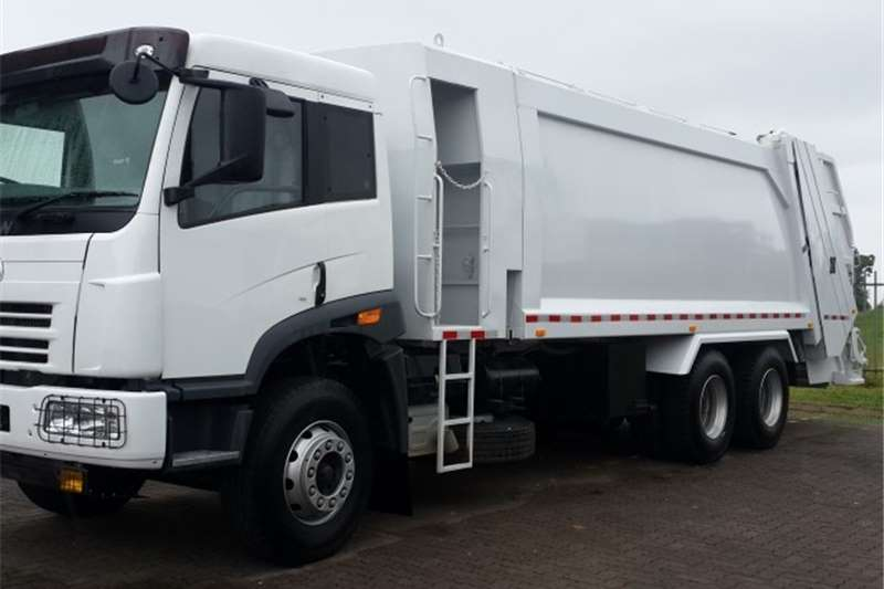 FAW Refuse disposal 28.330FL REFUSE COMPACTOR Truck