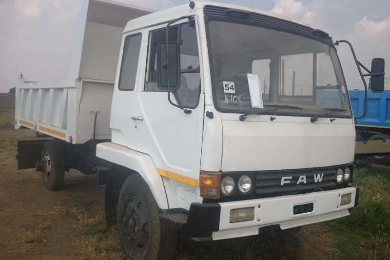Truck FAW Tipper 0
