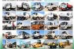 Truck FAW Tipper 28.280FD 6x4 10m³ Tipper 2010