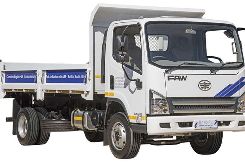 FAW Tipper 8.140FD - New 3m3 Tipper Truck