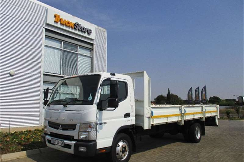 Truck Fuso Canter FE8 150TF AMT Dropside Body Fuso 2015
