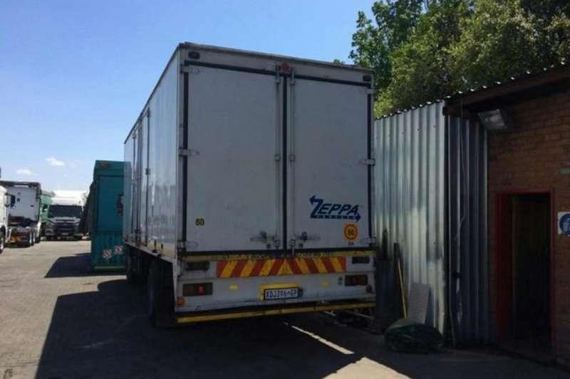 Fuso Closed body FM16-283 8 TON BOX BODY Truck