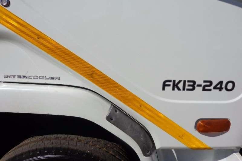 Fuso Curtain side MITSUBISHI FUSO FK13-240 Truck