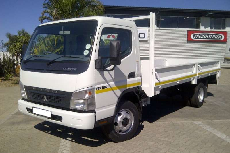 Fuso Dropside Canter FE7-136 Truck